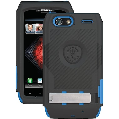 Trident™ AMS-XT912 Kraken Ams Case With Holster For Motorola® Droid™ Razr Maxx™, Blue