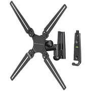 Level Mount® AISOA 10 to 32 Small Single Arm Full Motion Mount For Flat Panel TVs Up To 50 lbs.