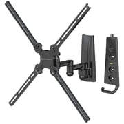 Level Mount® AIMOA 10 to 47 Medium Dual Arm Full Motion Mount For Flat Panel TVs Up To 70 lbs.