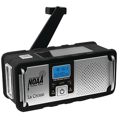 La Crosse Technology® 810-106 NOAA Solar Weather Radio