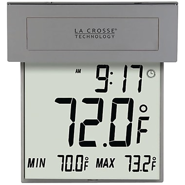 La Crosse Technology® 306-605 Solar Window Thermometer