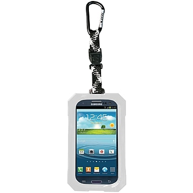 Dri Cat Hang It Waterproof Case For Samsung Galaxy S III, White/Black