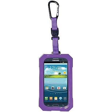 Dri Cat Hang It Waterproof Case For Samsung Galaxy S III, Purple