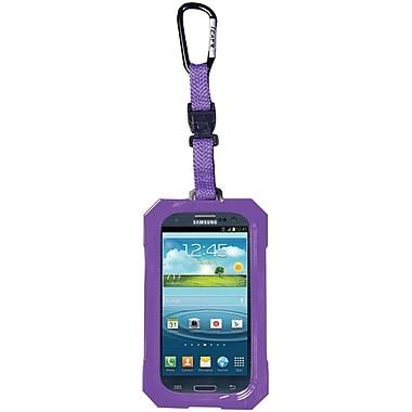 Dri Cat Hang It Waterproof Case For Samsung Galaxy S III, Purple