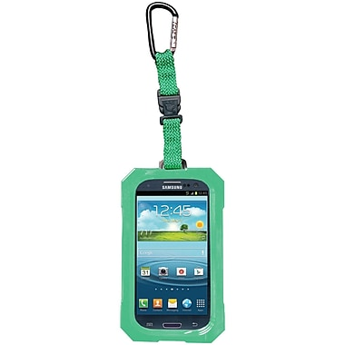 Dri Cat Hang It Waterproof Case For Samsung Galaxy S III, Lime