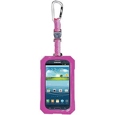 Dri Cat Hang It Waterproof Case For Samsung Galaxy S III, Pink/White
