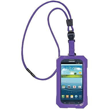 Dri Cat Neck It Waterproof Case For Samsung Galaxy S III, Purple
