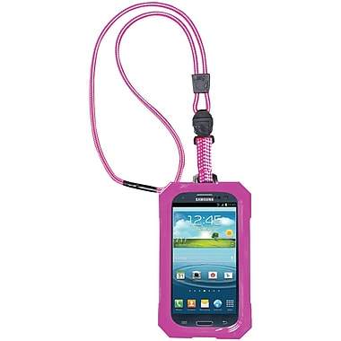 Dri Cat Neck It Waterproof Case For Samsung Galaxy S III, Pink/White