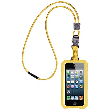 Dri Cat 11060P Neck it Waterproof Case With Lanyard For iPhone 5, Yellow
