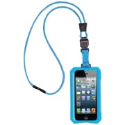 Dri Cat 11060P Neck it Waterproof Case With Lanyard For iPhone 5, Teal