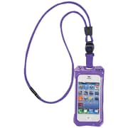 Dri Cat 11043CP Neck it Waterproof Case with Lanyard For iPhone 4/4S, Purple