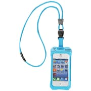 Dri Cat 11043CP Neck it Waterproof Case with Lanyard For iPhone 4/4S, Teal