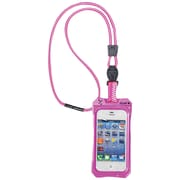 Dri Cat 11043CP Neck it Waterproof Case with Lanyard For iPhone 4/4S, Pink/White