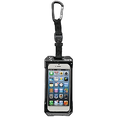 Dri Cat 11042CP Hang it Waterproof Case with Carabiner For iPhone 4/4S, Black