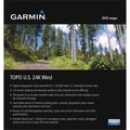 Garmin® 010-11314-00 MapSource TOPO US 24K West DVD