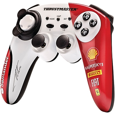 Thrustmaster® PC, PS3™ Alonso Edition GamePad