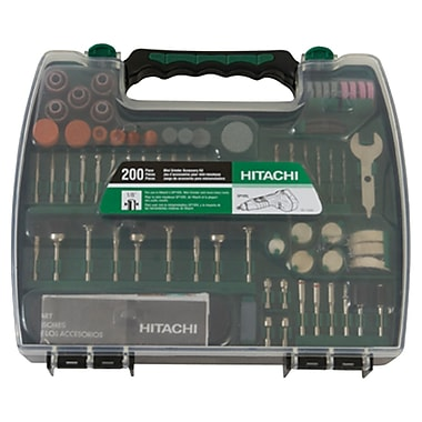 Hitachi Mini Grinder Accessory Set, 200 Pieces