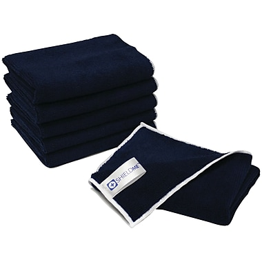 Shieldme™ 12in. x 12in. Antimicrobial Microfiber Cloth, 6/Pack