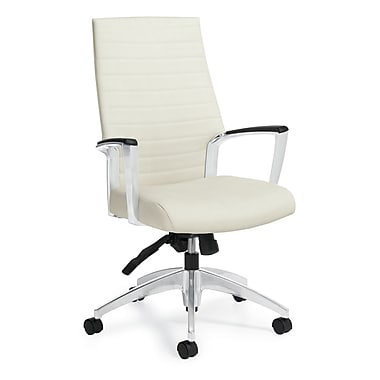 Global Accord Pebble Fabric High Back Tilter Chair, Sea Side
