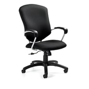 Global Supra Jenny Fabric High Back Tilter Chair, Midnite