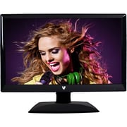 V7® LED215W2S-9N 22 Full HD LED LCD Widescreen Monitor With Speakers, Glossy Black
