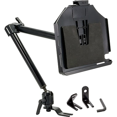Arkon® 22in. Heavy-Duty Seat Rail Mount With Custom Fit Holder For Apple iPad