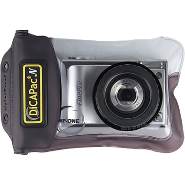 DiCAPac® WP-ONE Underwater Case For Digital Camera, Black