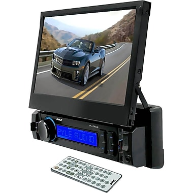 Pyle® PL78DLB 7in. Touchscreen LCD Car Flash Video Player