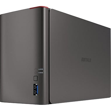 Buffalo® LinkStation™ 421e 2-Bay Network Attached Storage Diskless Enclosure