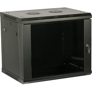 4XEM™ 200lbs. 9U Wall Mount Server Rack Cabinet