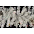 GKI/Bethlehem Lighting Pre-lit Iridescent Christmas Garland with Pine Cone, 2/Pack, Multi-Color