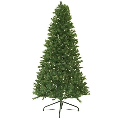 Darice® Pre-Lit Canadian Pine Artificial Christmas Tree Candlelight LED Light