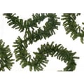 Darice® 50'(L) x 14in.(W) Unlit Canadian Pine Artificial Christmas Garland, Natural 2-Tone Green