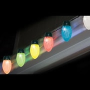 Brite Star C9 LED Color-Changing Jumbo Christmas Light, 10/Set, Multi-Color