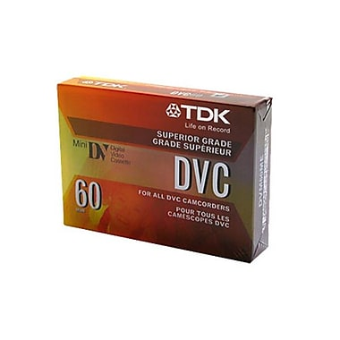 Imation TDK® Mini-DV Cassette, 60 min (30 x 2)