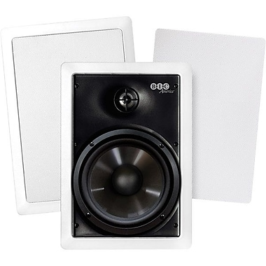 Bic 2-way 150 W RMS Speaker, White
