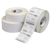 Zebra 3 x 2 White Permanent Adhesive Direct Thermal Label