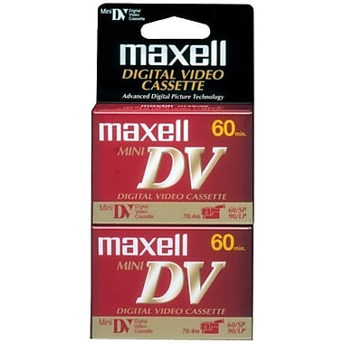 Maxell 298012 Mini DV Video Cassette