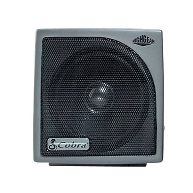 Cobra® HG-S100 Dynamic External Speaker, Black
