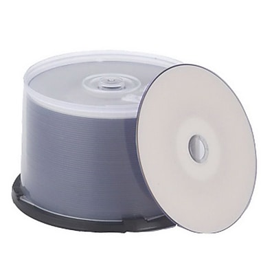 Primera TuffCoat 700MB White CD-R, Spindle, 100/Pack