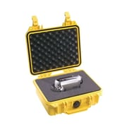 Pelican Yellow Polypropylene Small Shipping Case with Foam (1200-000-240)