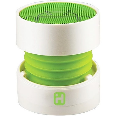 SDI Technologies™ IC68 Speaker System, White/Green