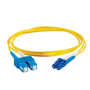 CyberData C2G 1m LC/SC Duplex Single-Mode Patch Cable