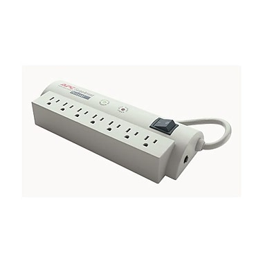 APC® 7 Outlet 240 Joule SurgeArrest Personal With 6' Cord