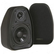 BIC America™ DV-32 2- Way Compact Shielded Mini Speaker, Black