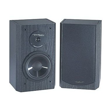 BIC America™ DV-62SI 2-Way Bookshelf Speaker, Black