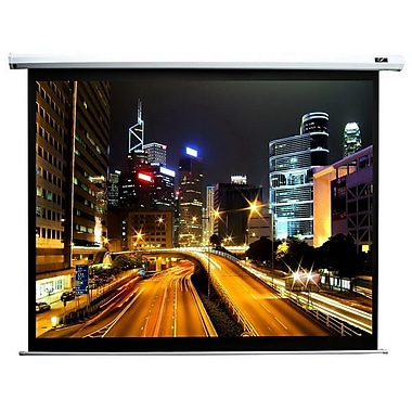 Elite Screens® Spectrum Series 106in. Electrol Projection Screen, 16:10, Black Casing