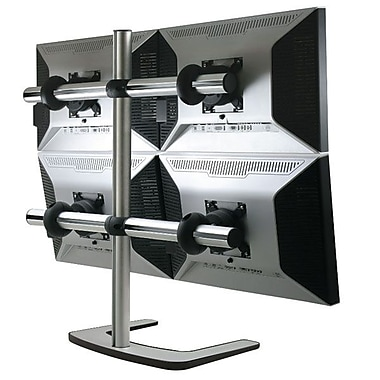 Atdec V-FS-Q-TAA 26.5 lbs. Freestanding Quad Display Stand For Up to 35in. Flat Panel Display