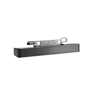 HP NQ576AT LCD Speaker Bar System, 2 W RMS, Black