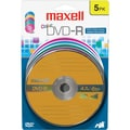 Maxell 4.7GB 16X DVD-R, Blister, 5/Pack